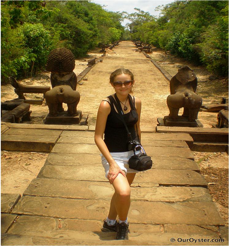 Angkor Wat, Cambodia. Picture taken by Our Oyster