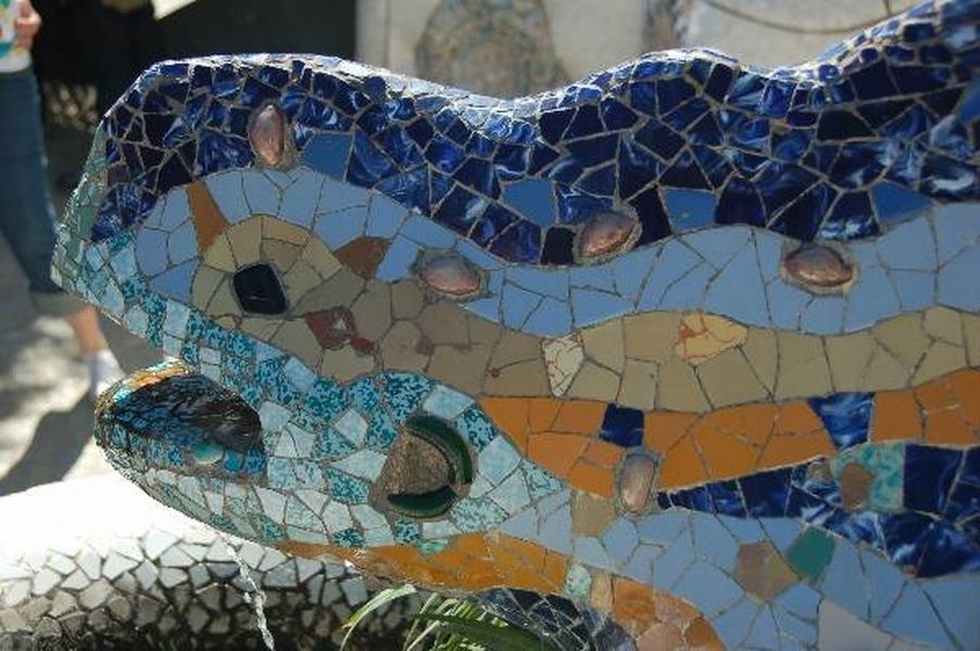 Park Guell Barcelona - Gaudi's work in Barcelona