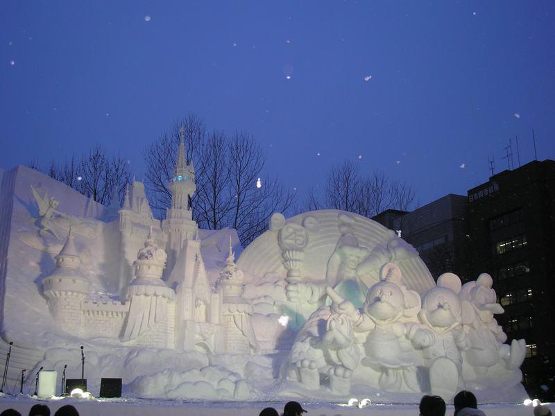 Yuki Matsuri (Snow Festival) in Sapporo, Hokkaido
