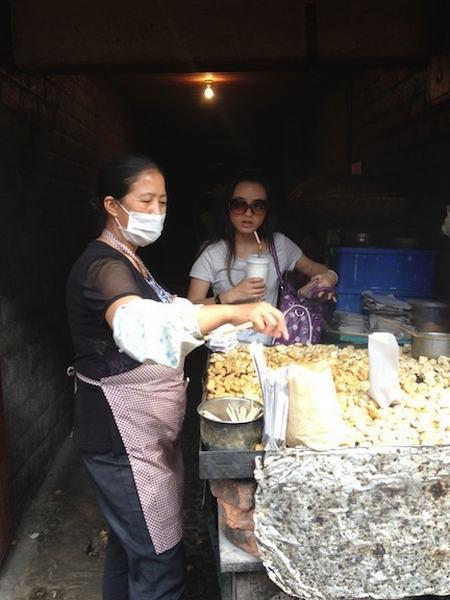 Becky Ances loves street food
