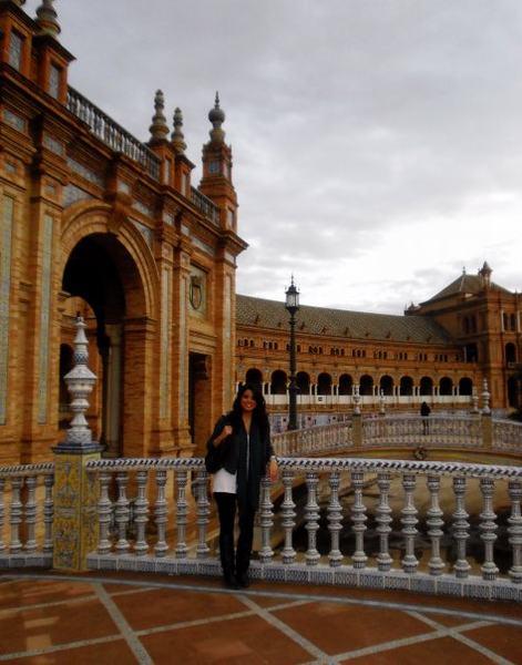 Christine in Spain