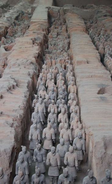 Guerreros de Terracota Xian China