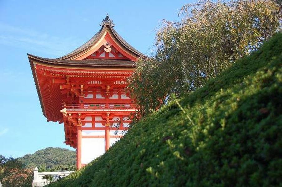 Kiyomizudera temple, Kioto, Japan