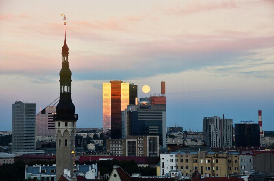 Tallin Estonia ciudad