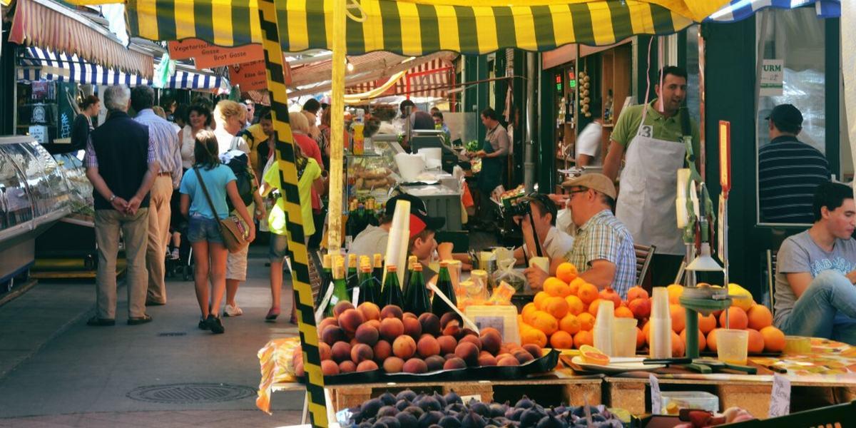Viena Naschmarkt