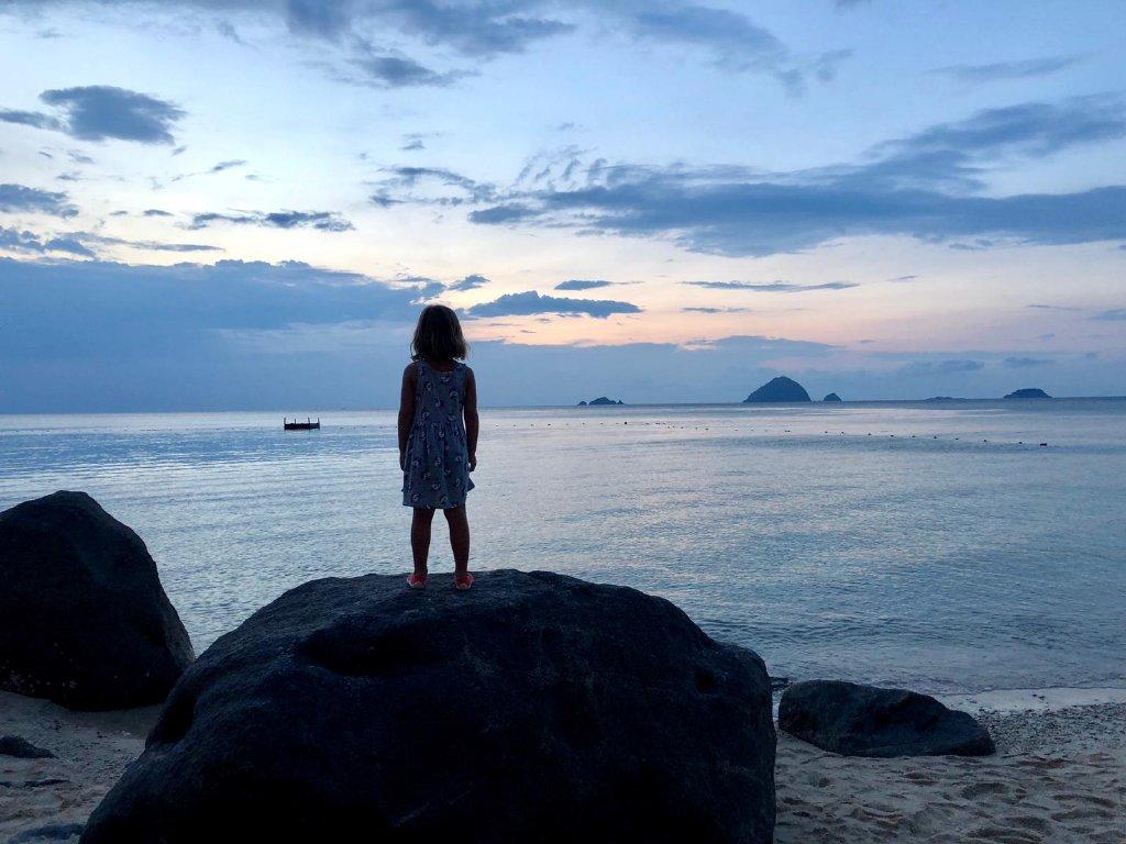 Kuta Kinabalu. Malasia
