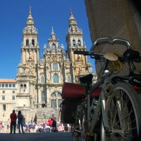 Santiago: Historic district and the Cathedral