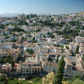 Llegada a Granada:
