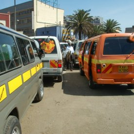 Arrival in Nairobi