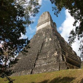 Visit to Tikal Archaeological Ruins