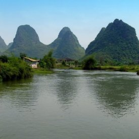 Yangshuo-Li River and subterranean caves