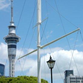 Llegada a Auckland