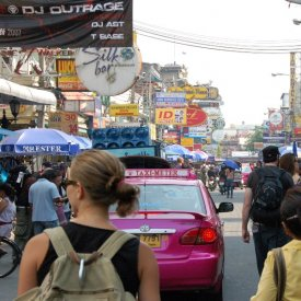 Llegada a Bangkok