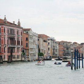 Llegada a Venecia
