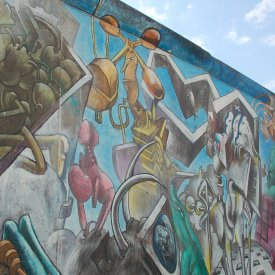 East Side Gallery and West Berlin