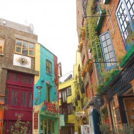 Notting Hill, Portobello Market y Covent Garden