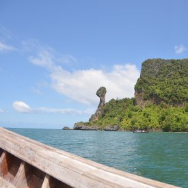 Railay Beach and the 4 islands