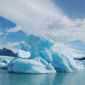 Navegación por los glaciares