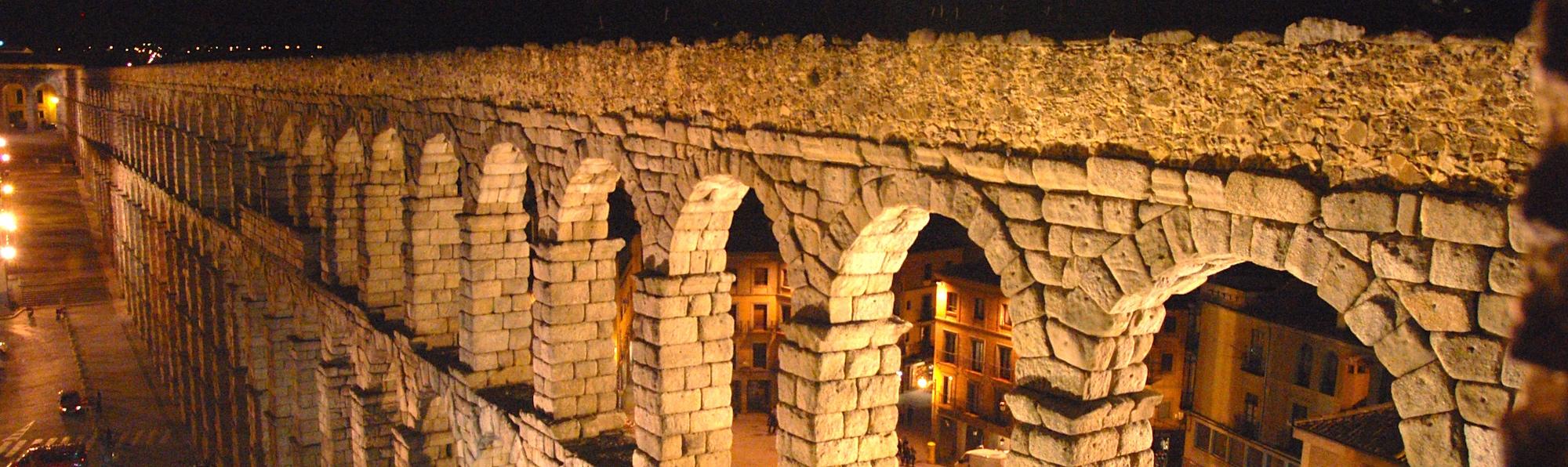 Acueducto Romano, Segovia, España