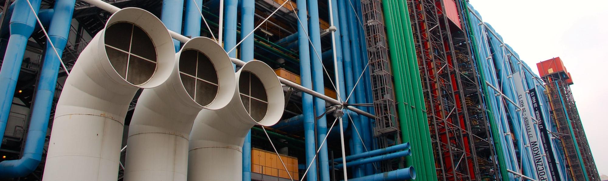 Centro George Pompidou Abajo, París