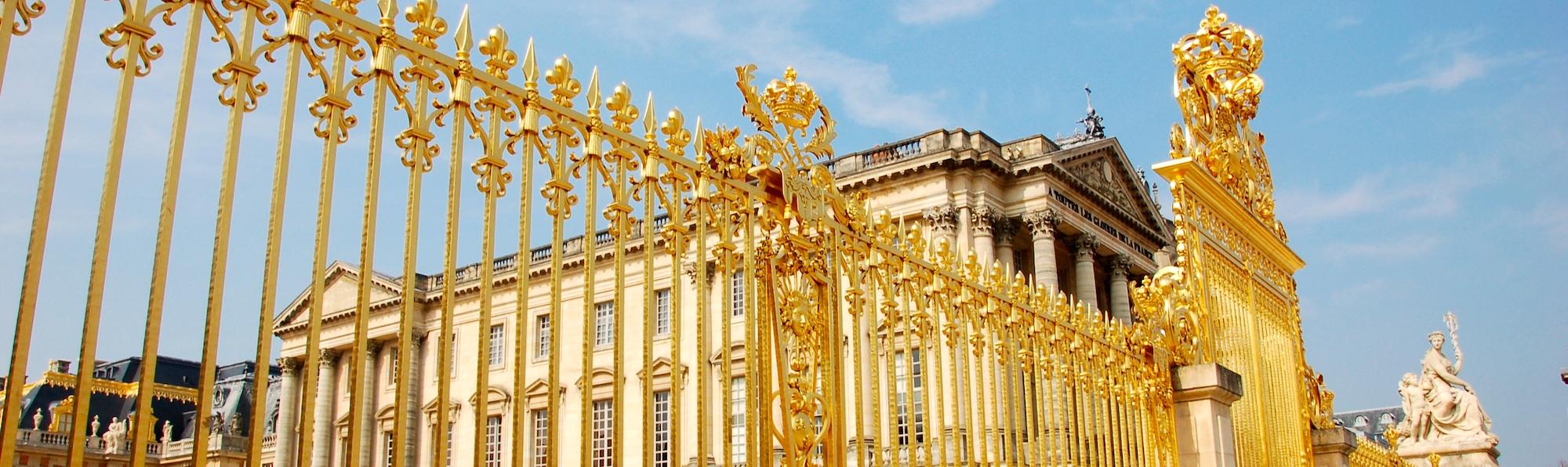 Palacio Versalles Abajo, París