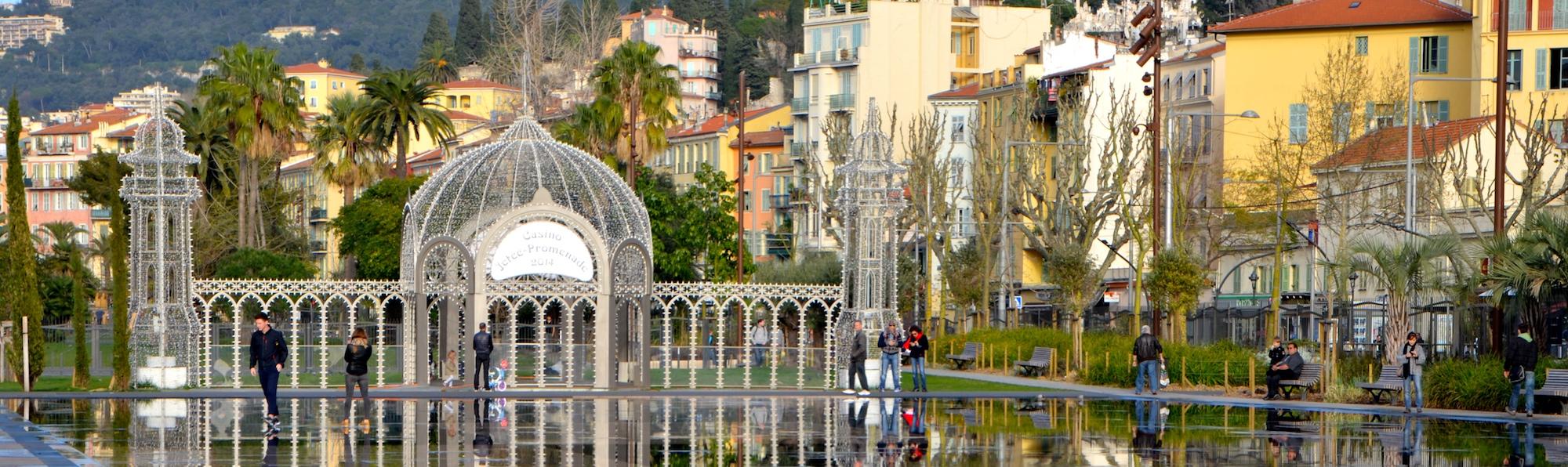 Promenade Paillon, Niza