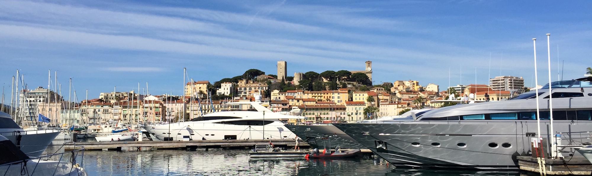 Castillo e iglesia, Cannes