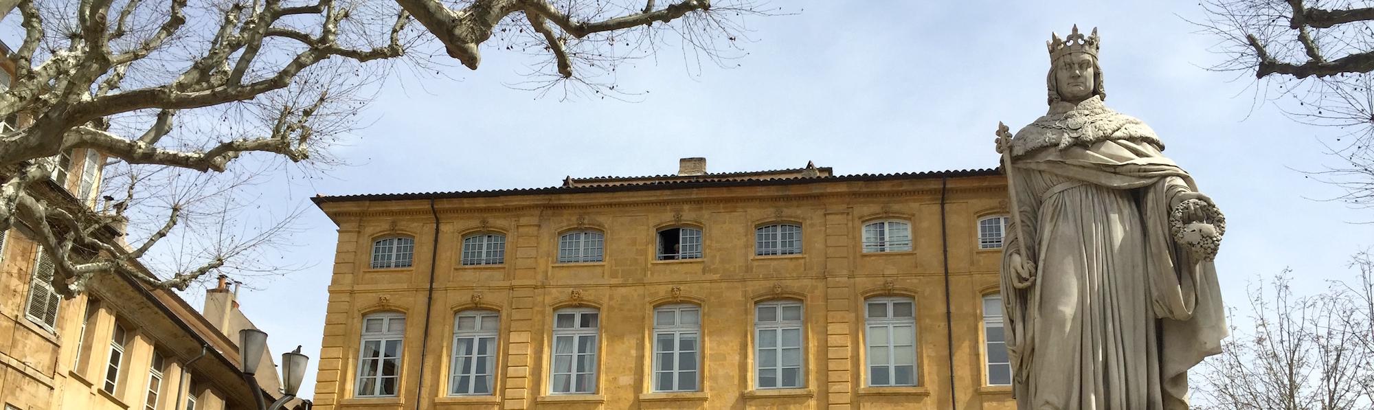 Paseo casco antiguo, Aix en Provence