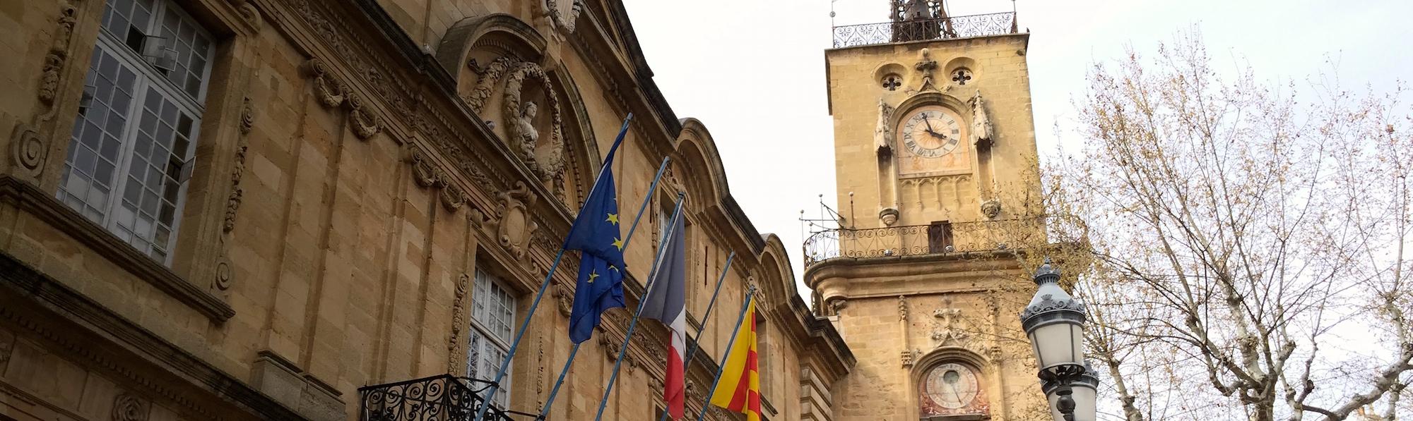 Torre del Reloj, Aix en Provence
