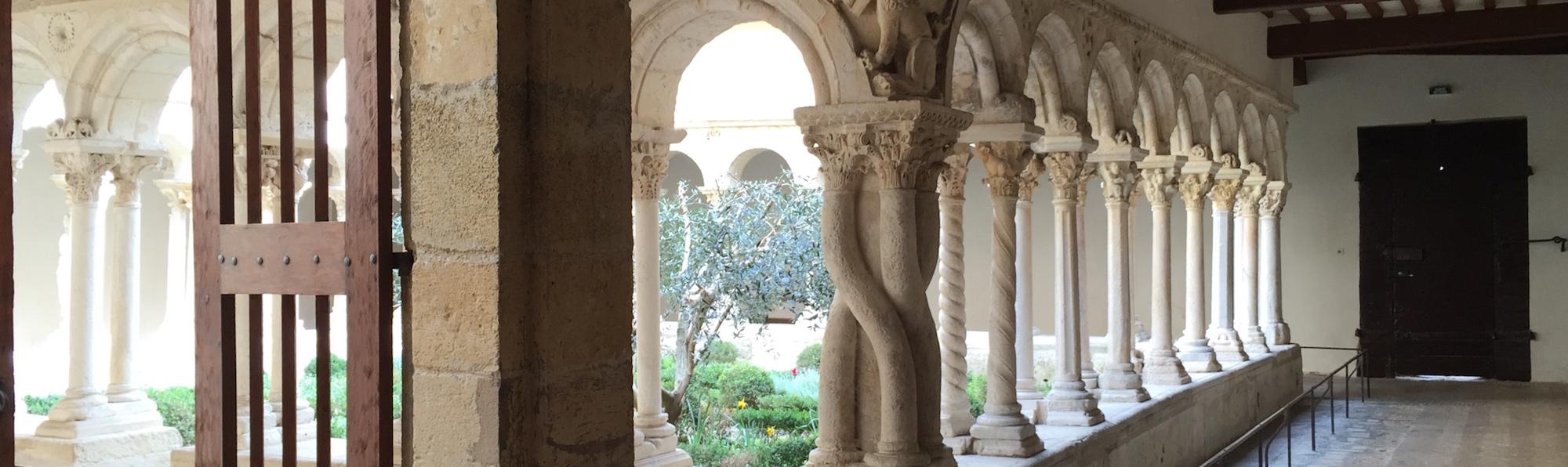 La catedral de Saint-Saveur Abajo- Aix en Provence