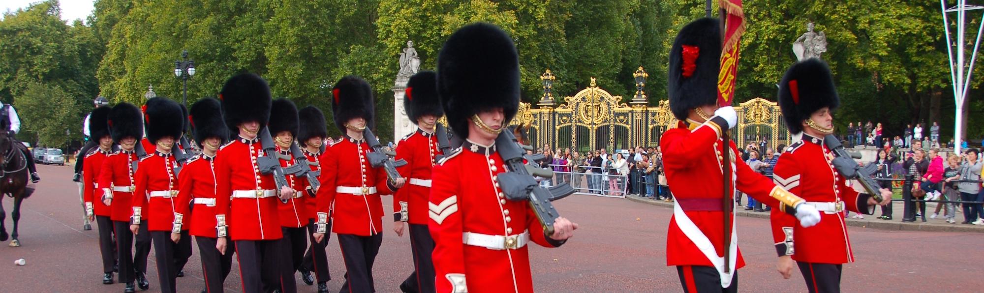 Buckinham Palace Abajo, Londres