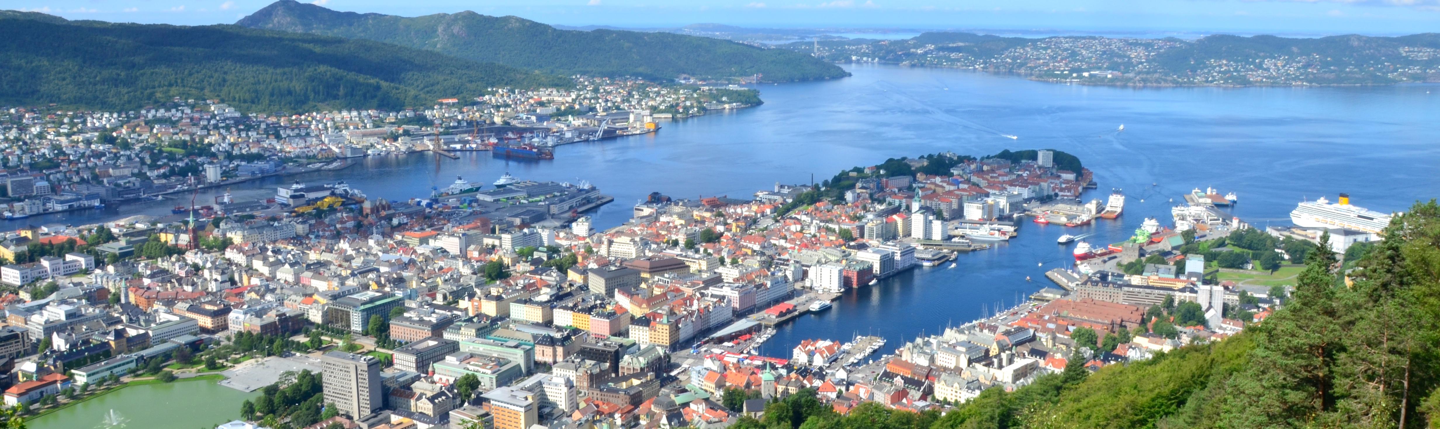 Subir a Floyen, Bergen