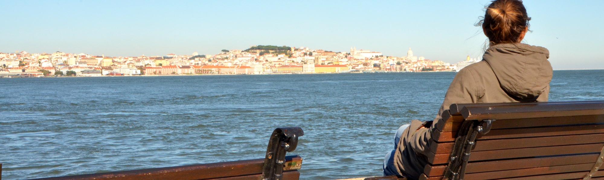Paseo en barca Rio Cacilhas, Barrio Estrela, Lisboa