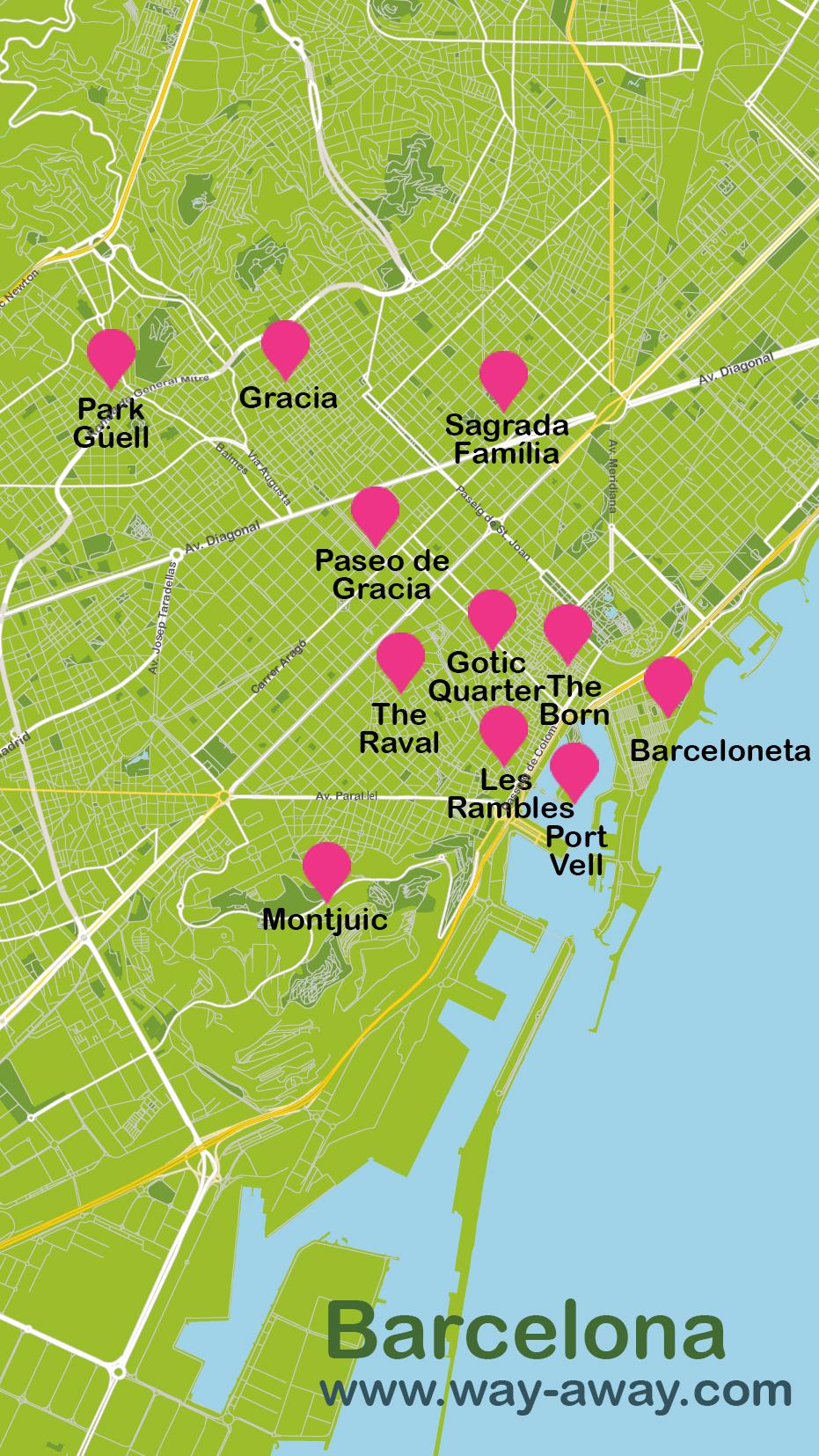 City Break Barcelona in 4 days