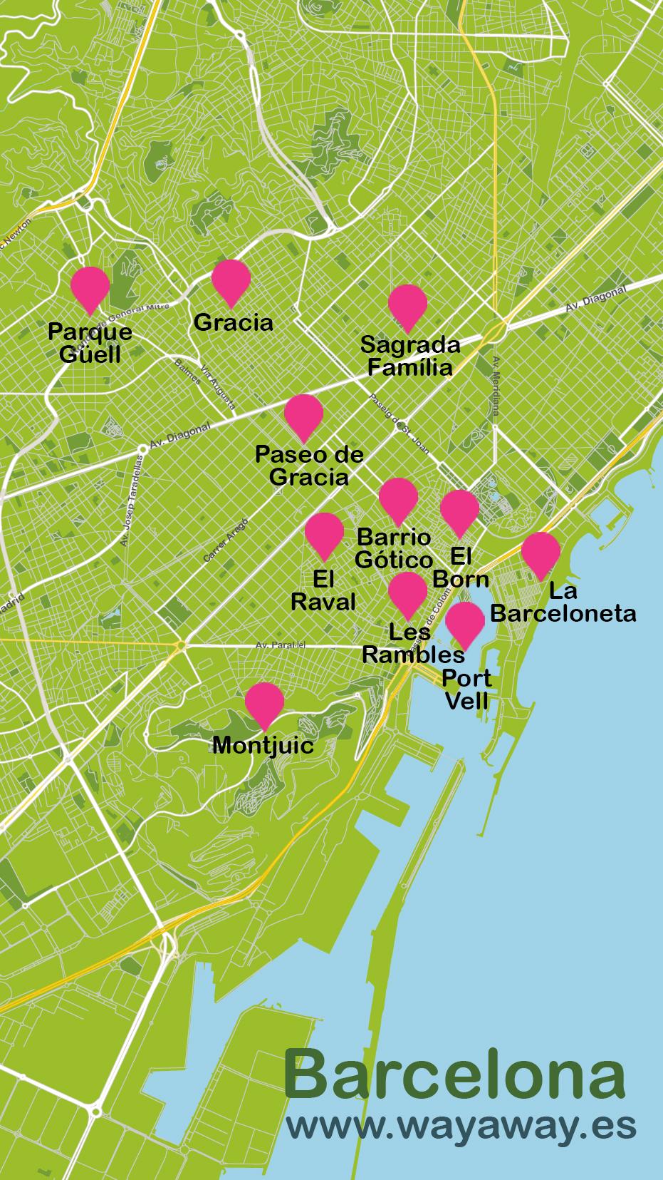viajar a Barcelona en 4 días