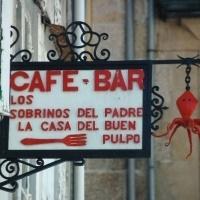 Juana viajó a Santiago de Compostela