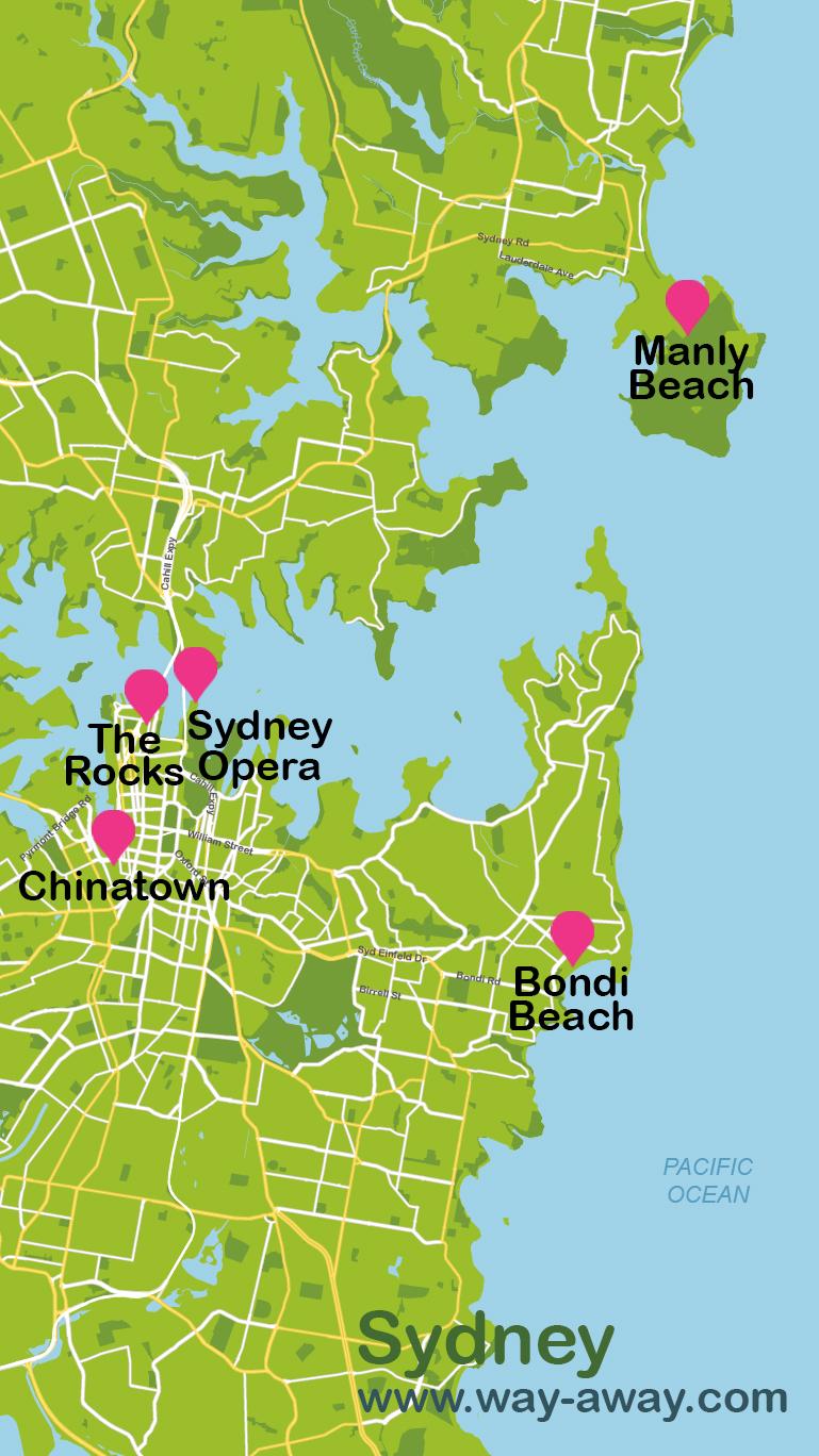 viajar a Sidney en 4 días