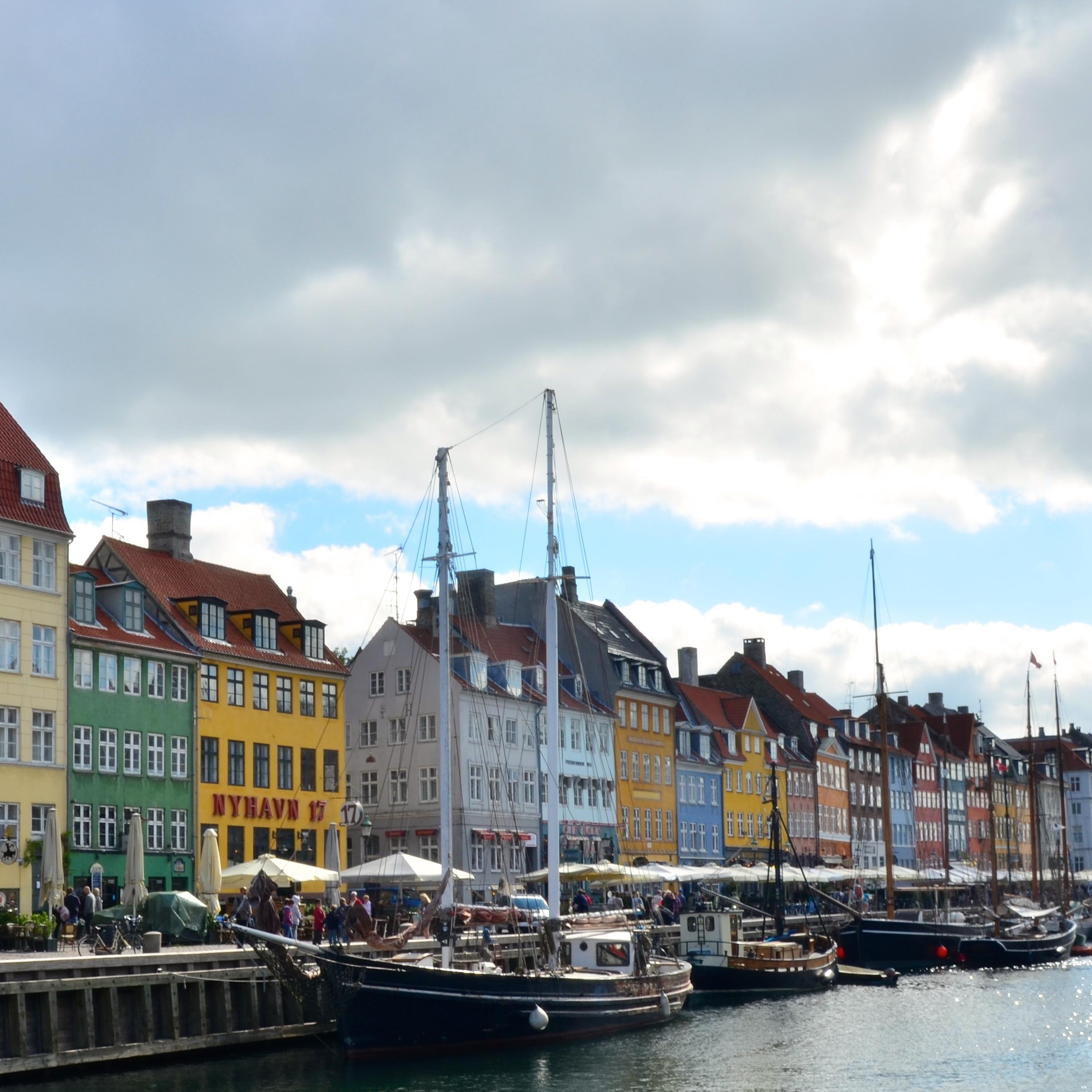 Llegada a Copenhague: el Nyhavn