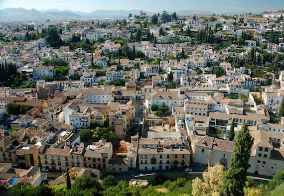 viajar a Granada un fin de semana