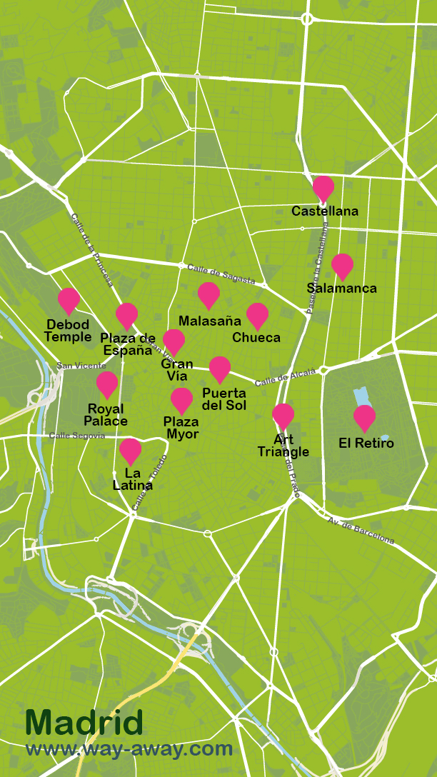 Map of Madrid #onlyen