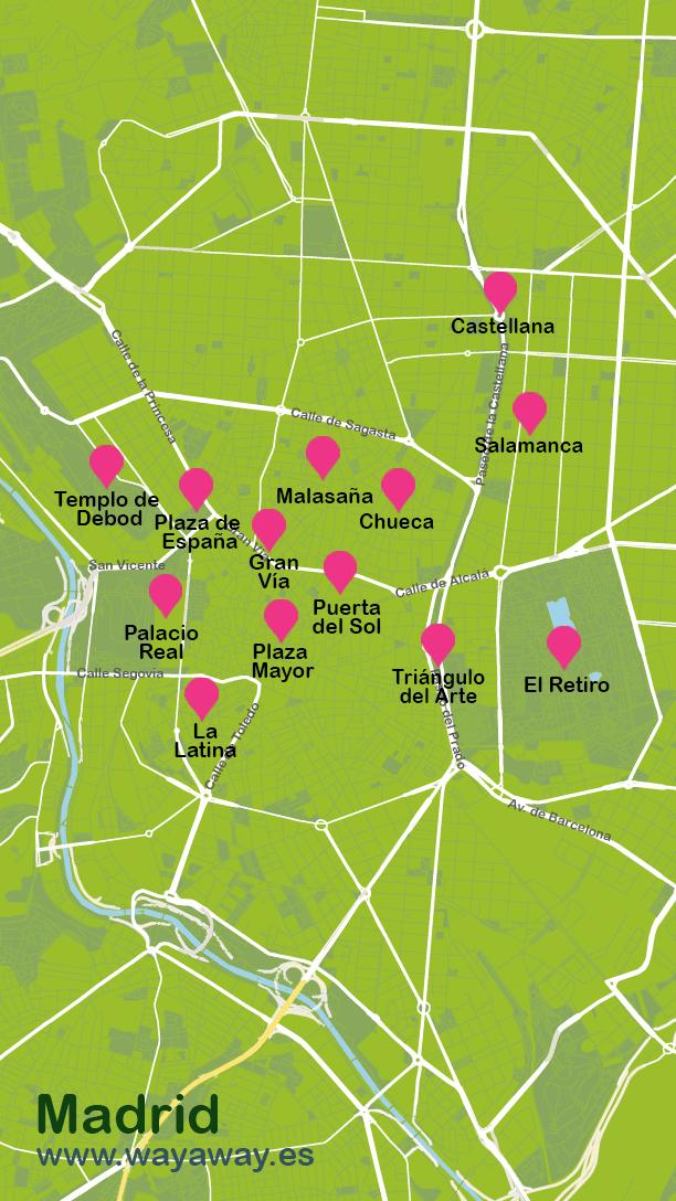 Mapa de Madrid #onlyes