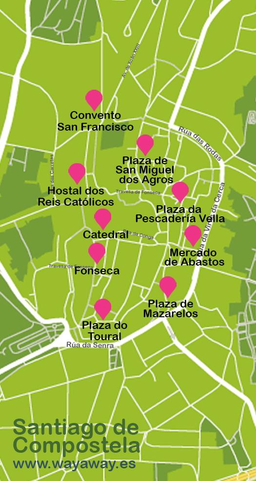 Mapa de Santiago #onlyes