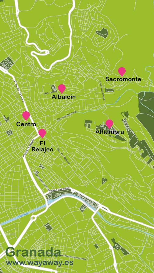 Mapa de Granada #onlyes