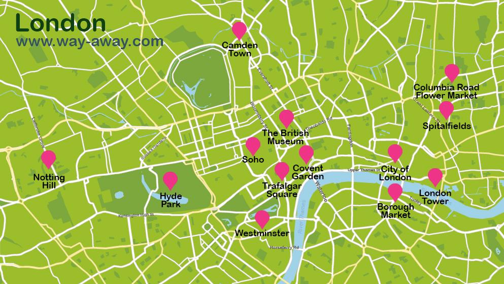 Map of London #onlyen