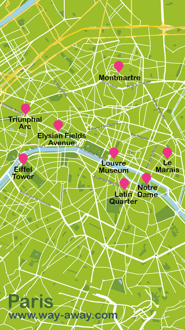 Map of Paris #onlyen