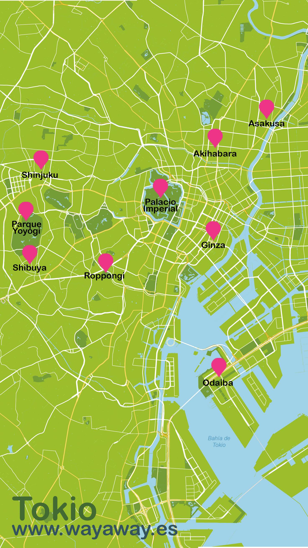 Mapa de Tokio #onlyes