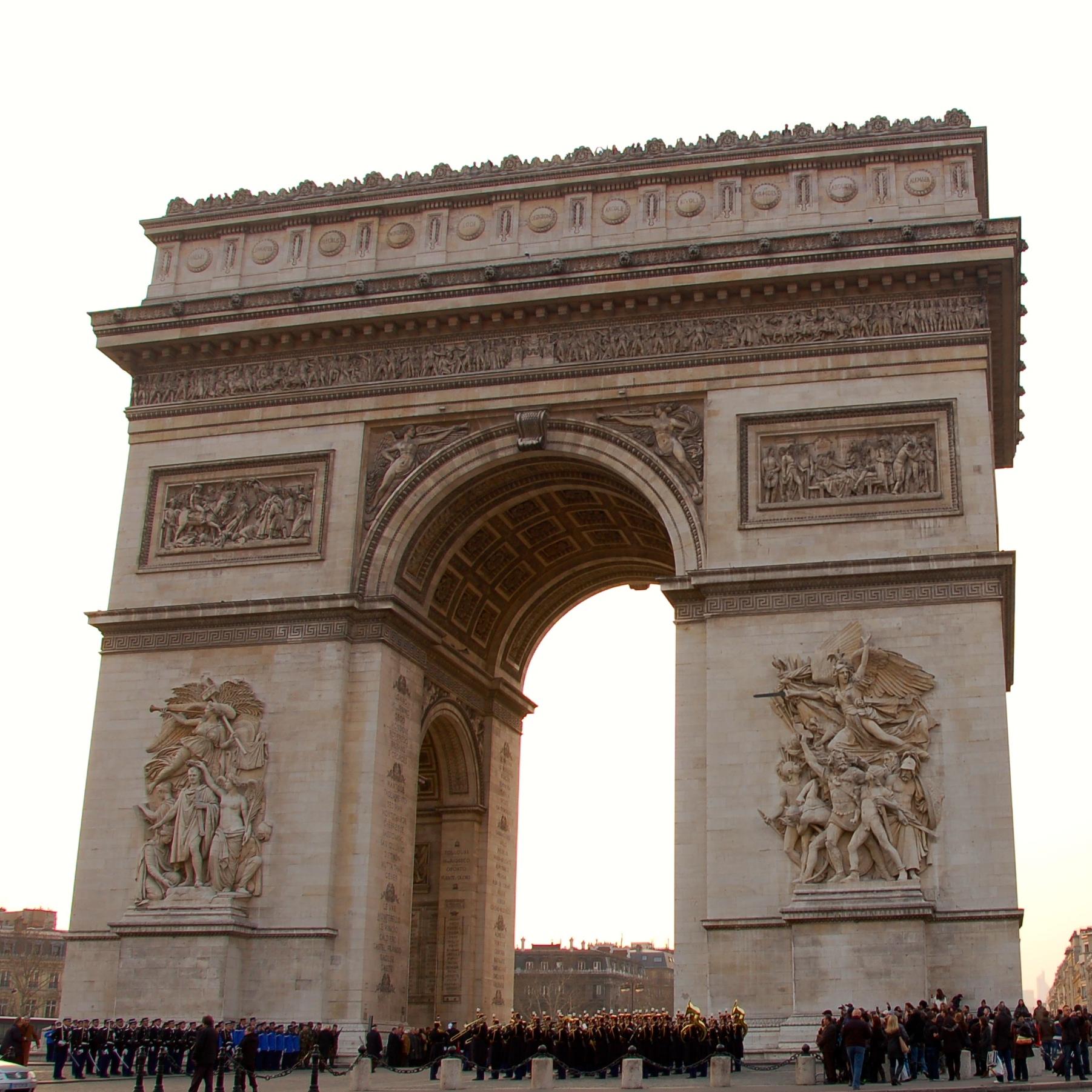 Arrival to Paris.