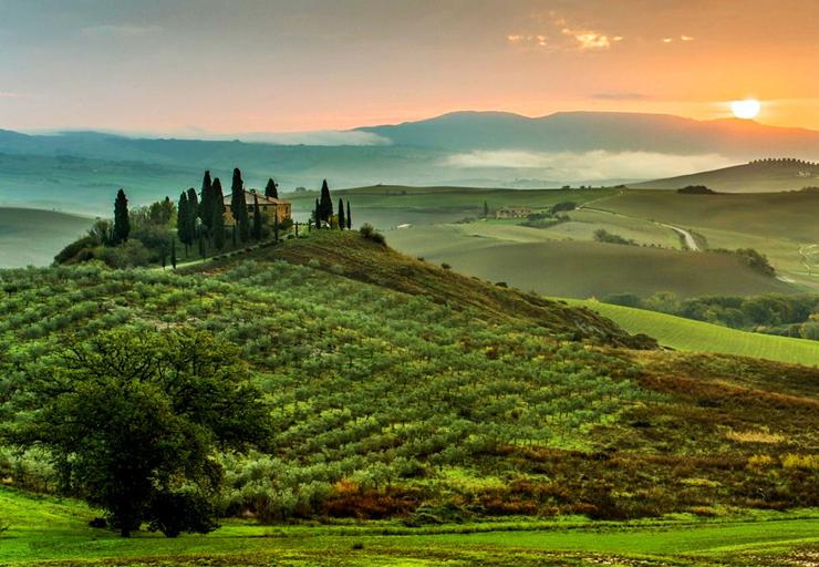 viajar a La Toscana en 5 días