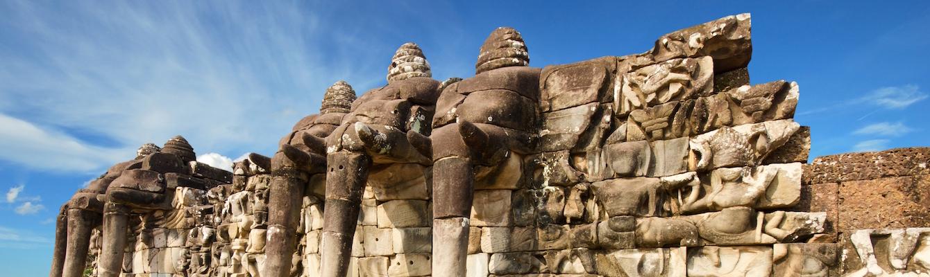 Royal Palace y la terraza de los elefantes