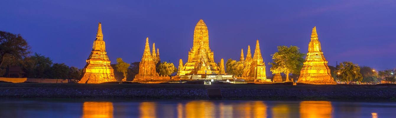 Los Templos Ayutthaya